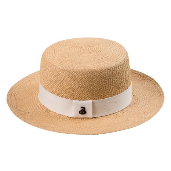 PANAMA šešir Lady Boater beige