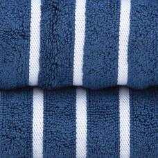 RUČNIK plavi/bijele pruge 76x142cm