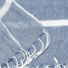 ŠAL denim plavi bijele pruge 200x70cm