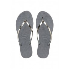 JAPANKE HAVAIANAS YOU METALLIC STEEL GREY