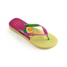 JAPANKA HAVAIANAS TOP COOL POLLEN YELLOW ROSE GUM