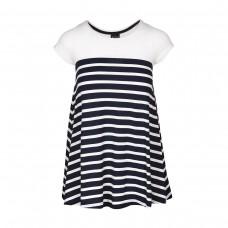 DRESS girls Breton stripes